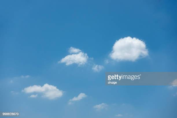 white clouds above wuxi - wispy stock photos and pictures