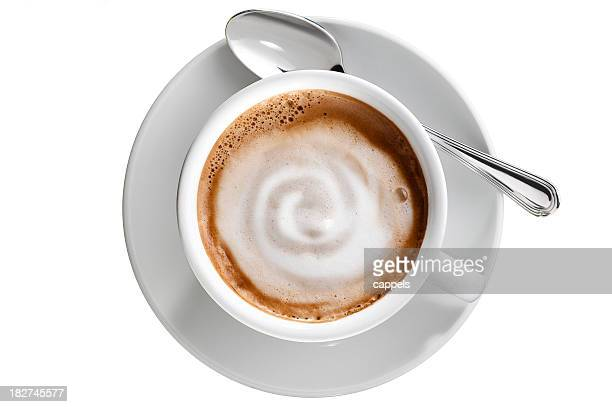 White Coffee Cup.Color image