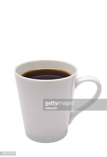White Coffee Cup-Vertical