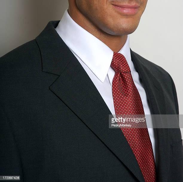 Colletti bianchi Uomo d'affari Ritratto di Close-Up di