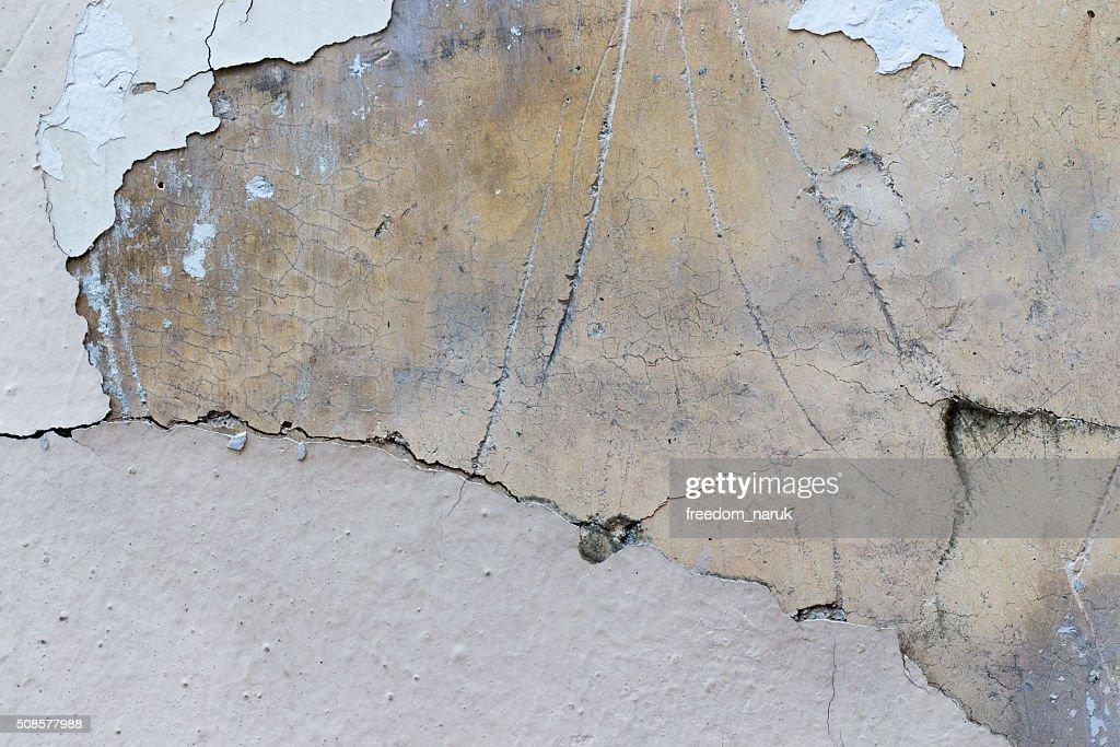 白いコンクリートの壁テクスチャ : ストックフォト