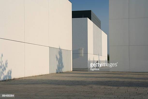 white cubes - bauhaus art movement stock pictures, royalty-free photos & images