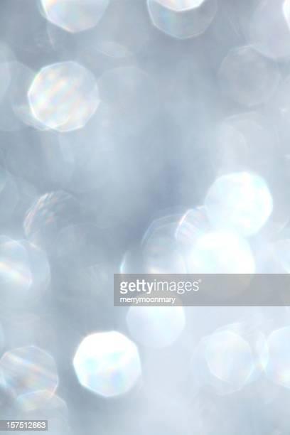White Defocused Shimmer Background