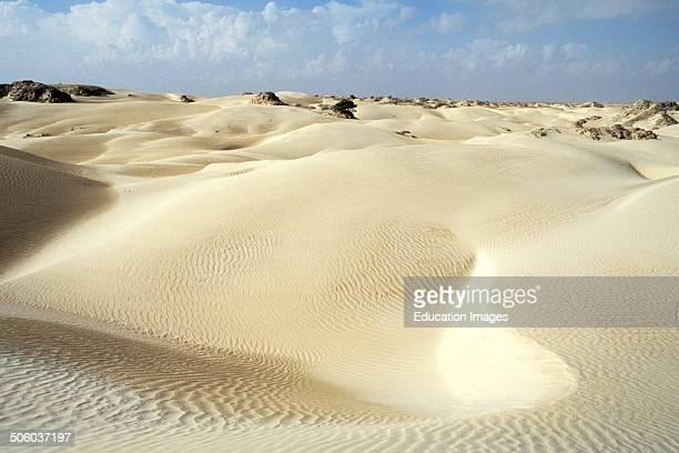 White Desert Al Khalouf Oman Asia