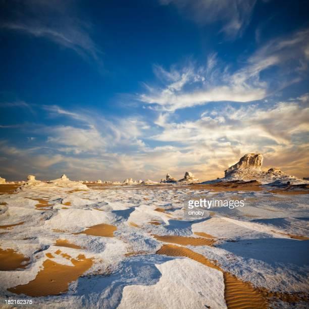 White Desert Twilight