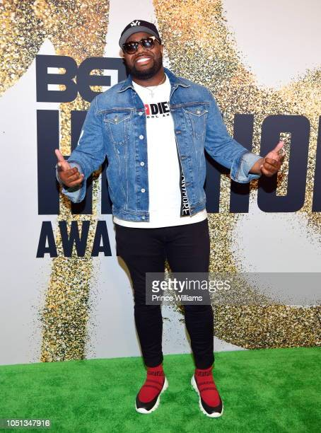 J White Did It arrives at the BET Hip Hop Awards 2018 at Fillmore Miami Beach on October 6 2018 in Miami Beach Florida