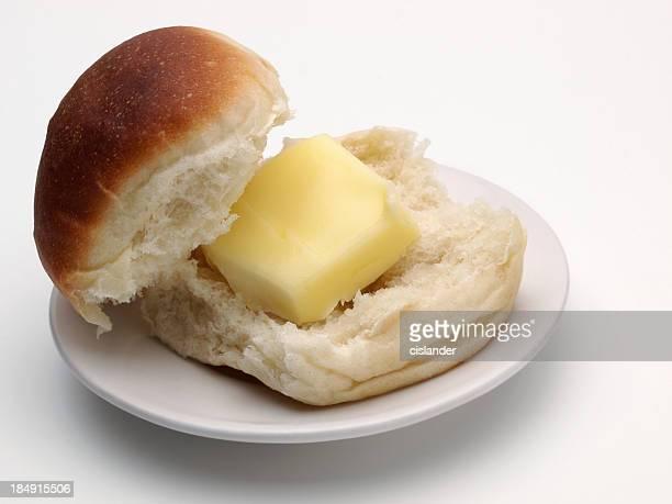 White Dinner Roll