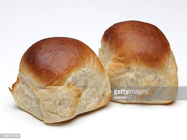 white dinner rolls - bun stock pictures, royalty-free photos & images
