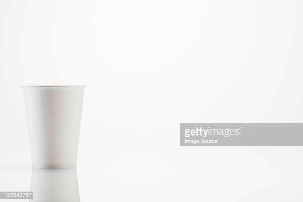 white disposable cup - disposable cup stock pictures, royalty-free photos & images