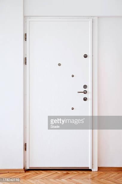 White Tür