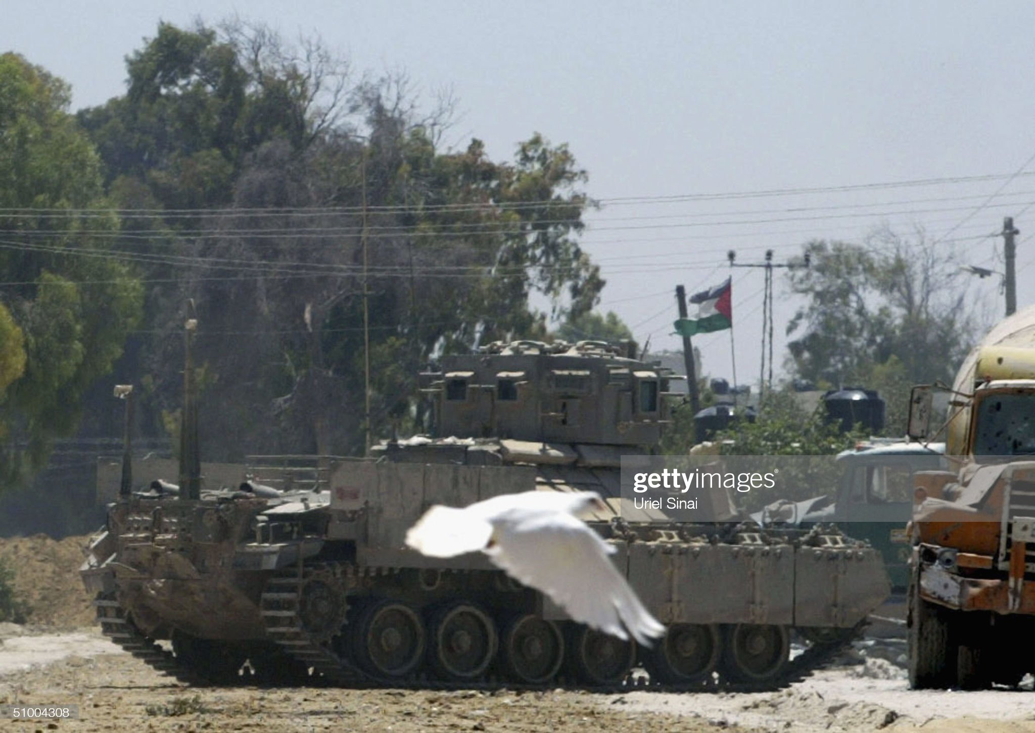 https://media.gettyimages.com/photos/white-dove-passes-an-israeli-tank-on-station-outside-an-army-base-by-picture-id51004308?s=2048x2048