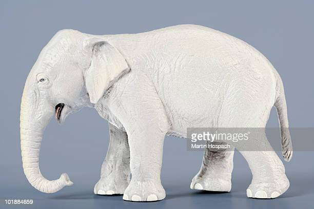 a white elephant - white elephant stock photos and pictures