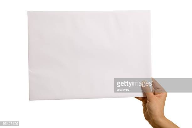 white envelope - thumb stock pictures, royalty-free photos & images