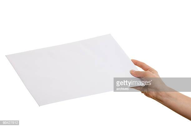 white envelope - passing giving stock pictures, royalty-free photos & images