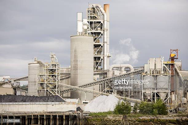 セメントコンクリートの工場、産業製造