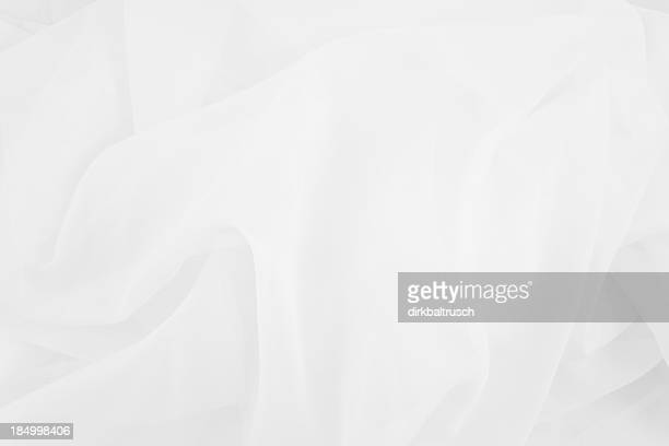 white fabric background
