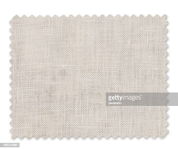 White Fabric Swatch