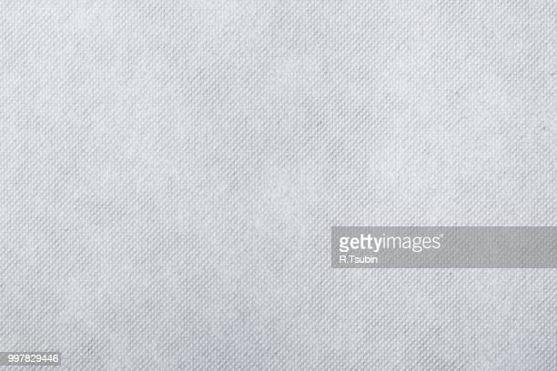 white fabric texture for background - paper background stock photos and pictures