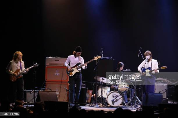 White Fence performs onstage at the Fox Theater on February 27 2017 in Oakland California