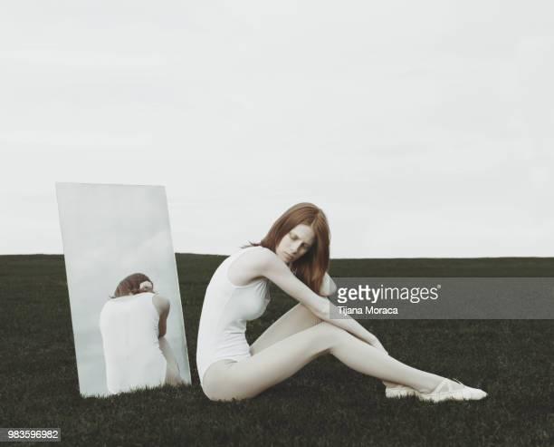 White figure