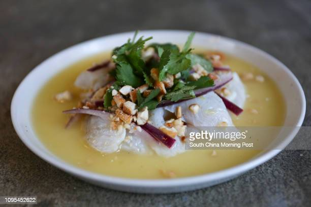 White fish ceviche from Chino in Kennedy Town 16JAN15 [29JANUARY2015 FOOD REVIEW 48HRS]