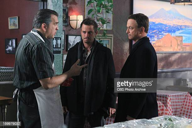 'White Gold' When a young pizza maker is carjacked the CSIs including Det Danny Messer and Det Mac Taylor must determine with the help of his uncle...