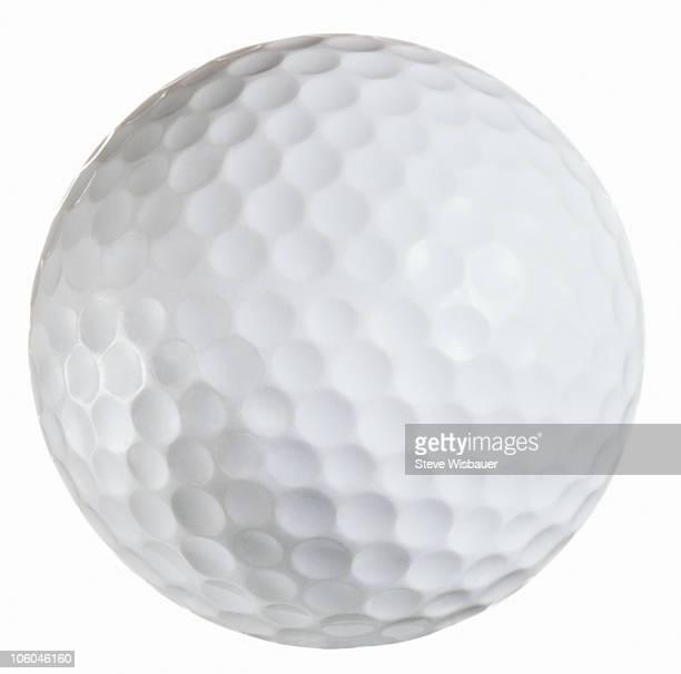 A white golf ball