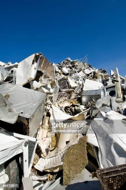White Goods Recycling Scrapyard