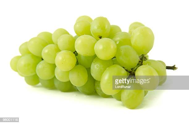 white grapes - white grape stock photos and pictures