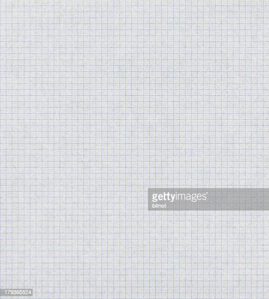 white graph paper with blue lines