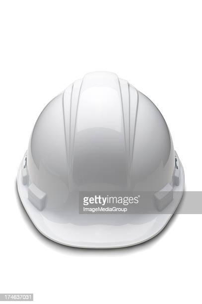 Casco duro blanco