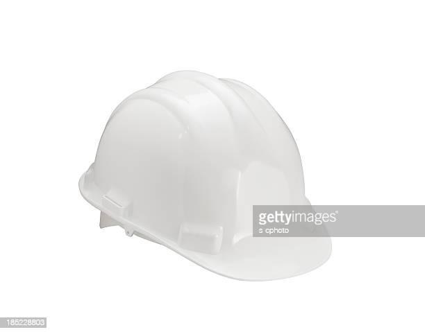 Capacete de proteção branco (clique para mais informações