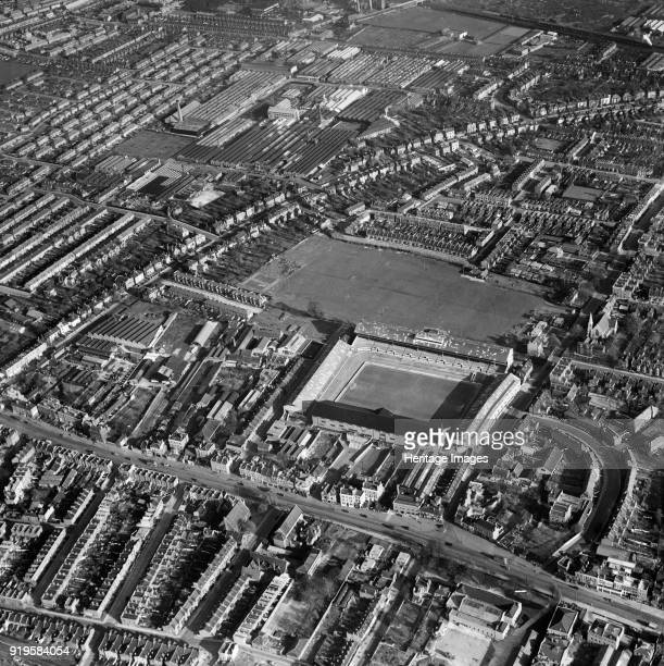 White Hart Lane Tottenham Haringey London 1949 The stadium of Tottenham Hotspur Football Club