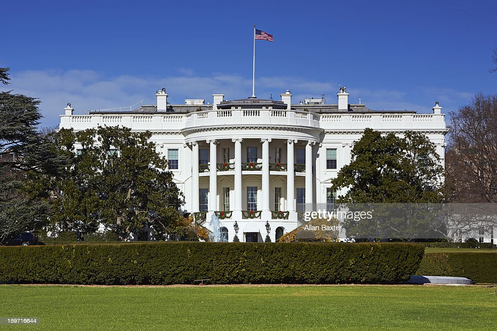 White House at midday : Stock Photo