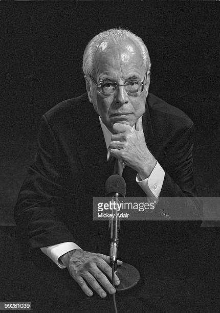 White House attorney to President Richard Nixon John Dean poses for a portrait at the Tiger Bay Club in 2007 in Tallahassee Florida