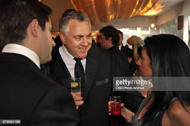 Australian Ambassador to the US Joe Hockey enjoys conversation at reception before White House Correspondent's Dinner