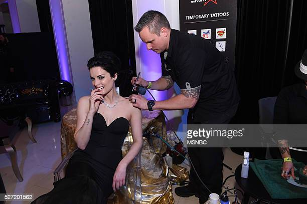 EVENTS White House Correspondents' Dinner MSNBC AfterParty Pictured Actress Jaimie Alexander
