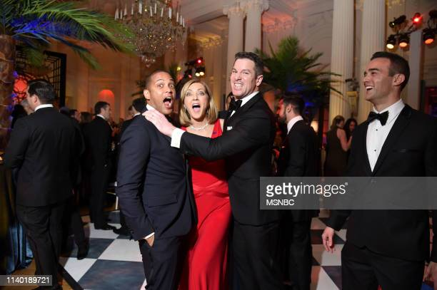 EVENTS White House Correspondents' Dinner MSNBC AfterParty Pictured Don Lemon Host CNN Tonight Chris Jansing NBC News Correspondent Thomas Roberts...