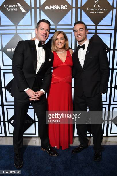 EVENTS White House Correspondents' Dinner NBC News/MSNBC AfterParty Pictured Thomas Roberts MSNBC Host Chris Jansing NBC News Correspondent and...