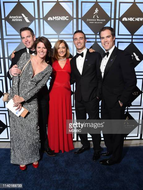 EVENTS White House Correspondents' Dinner NBC News/MSNBC AfterParty Pictured Thomas Roberts MSNBC Host Kasie Hunt NBC News Capitol Hill Correspondent...