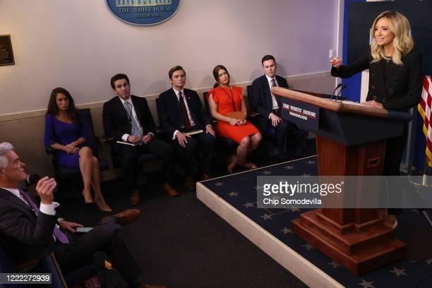 White House Director of Strategic Communications Alyssa Farah Senior Communications Advisor Ben Williamson Principal Assistant Press Secretary Chad...