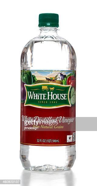 White House distilled vinegar bottle