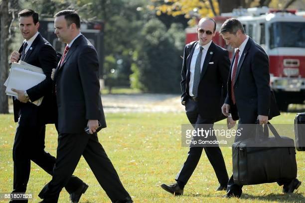White House Personal Aide to the President John McEntee White House Director of Social Media Dan Scavino and Senior Advisor to the President Stephen...