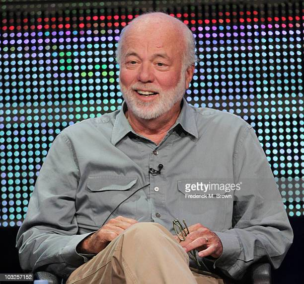 White house photographer David Hume Kennerly of television show 'The President's Photographers A National Geographic Special' speaks during the PBS...