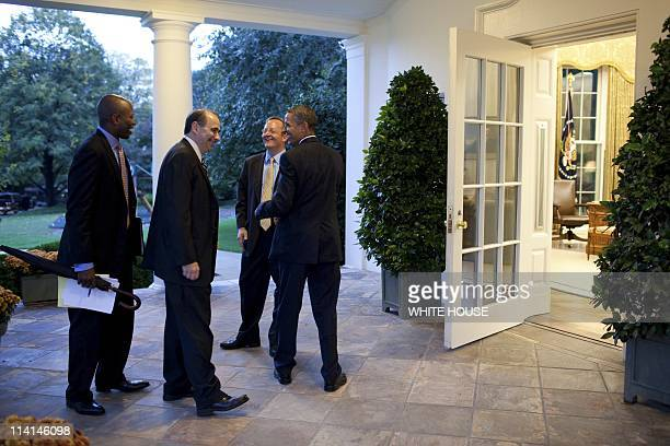 White House Pictures In Washington United States On October 27 2010President Barack Obama chats with from left Personal Aide Reggie Love Senior...