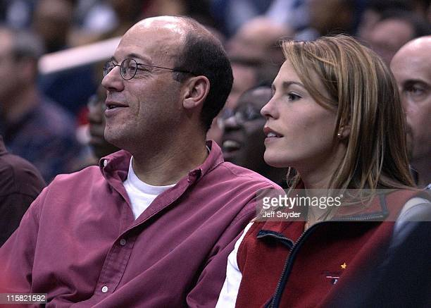 White House Press Secretary Ari Fleischer and wife Becki