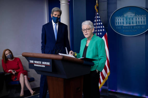 DC: Press Secretary Psaki Is Joined By Climate Advisors For Daily Briefing