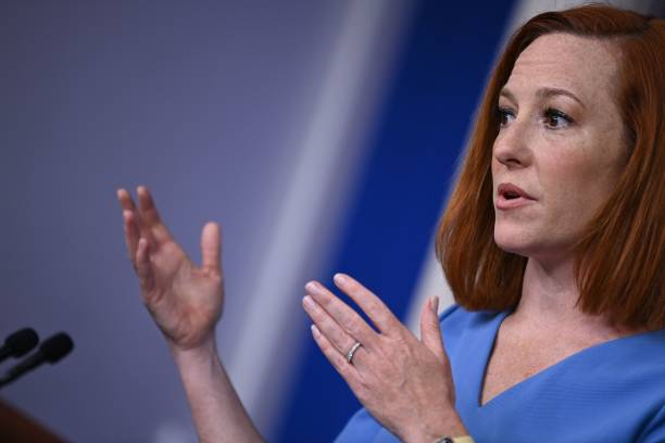 DC: Press Secretary Jen Psaki Holds Daily Briefing At The White House