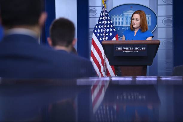 DC: Press Secretary Psaki Briefs White House Media