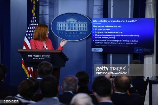 DC: Press Secretary Jen Psaki Briefs White House Media
